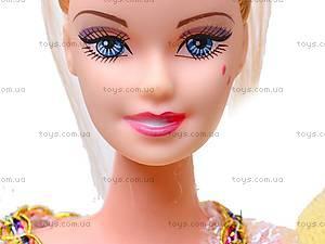 Кукла, с набором платьев, 888B, отзывы