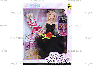 Кукла с набором платьев и аксессуарами, 338B, фото