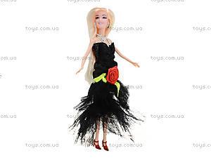 Кукла с набором платьев и аксессуарами, 338B, магазин игрушек