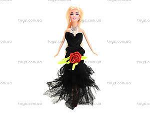 Кукла с набором платьев и аксессуарами, 338B, toys.com.ua
