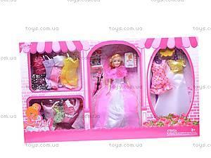 Кукла с нарядами и аксессуарами, 89625, детские игрушки