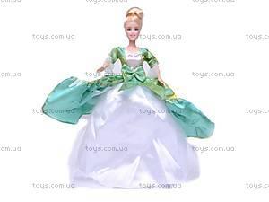 Кукла, с нарядами и мебелью, 88966