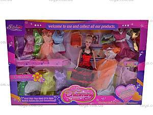 Кукла с платьями, 89084, игрушки