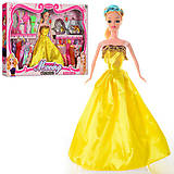 Кукла с платьями, расческой, сумочкой, YX032-A, отзывы