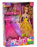Кукла с платьями и аксессуарами, А24Н01, купить