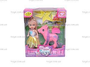 Кукла с пони и аксессуарами, YS2010-28B, отзывы