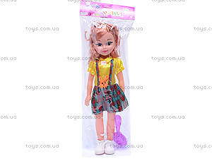Кукла с расческой, 83317D, фото
