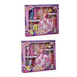 Кукла с ребенком, с нарядами (в розовом) №1, D22-2, купить