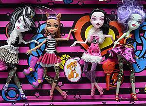 Кукла с шарнирами Monster High, 12823, детские игрушки