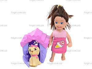 Игровой набор «Кукла с собачкой», K899-20, фото