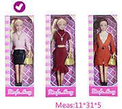 Кукла с сумочкой в розовом «Defa Lucy», 8365, тойс