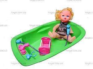 Кукла, с ванной, 113-28