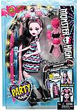 Кукла серии «Monster High. Party Hair», DVH36, іграшки