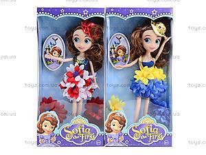 Детская кукла Sofia с аксессуарами, WQ1307ABC, детские игрушки