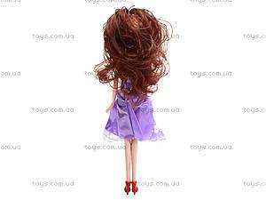 Кукла в бальном платье «София», S913, фото