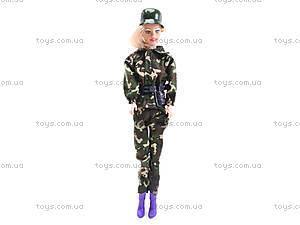 Кукла-солдат с автоматом, 111B, фото