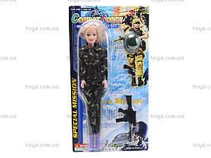 Кукла-солдат с автоматом, 111B, цена