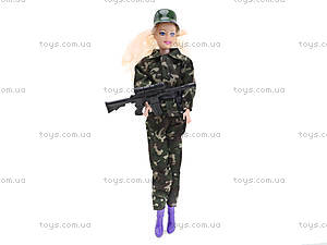 Кукла-солдат с автоматом, 111B, игрушки