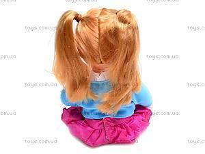 Кукла Соня с рюкзачком, 5299, фото