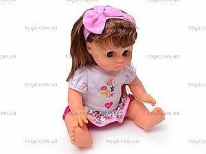 Кукла Соня с рюкзаком, 5298