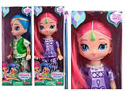 Кукла с яркими волосами, 2 вида, PL016
