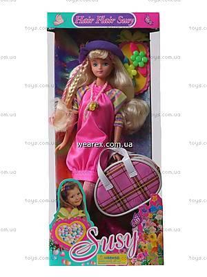 Кукла Susy, с заколками, 2707