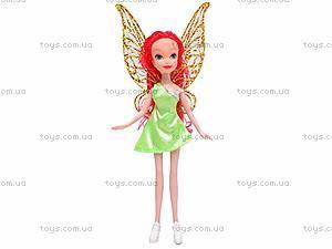 Кукла Tinker Bell, с крылышками, 1822, игрушки