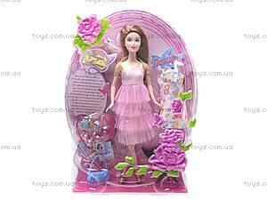 Кукла типа Барби с аксессуарами, NM58/9955-1/3