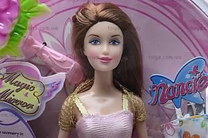 Кукла типа Барби с аксессуарами, NM58/9955-1/3, отзывы