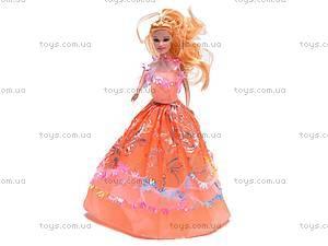 Кукла типа Барби с большим гардеробом, 2213A2