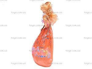 Кукла типа Барби с большим гардеробом, 2213A2, игрушки