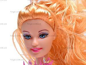 Кукла типа Барби с большим гардеробом, 2213A2, детские игрушки