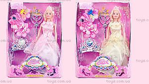 Кукла типа Барби с диадемой, 83107