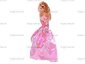 Кукла типа Барби с гардеробом, 6688-C, фото