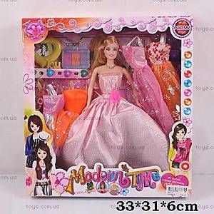 Кукла типа «Барби», с косметикой, 9311-2