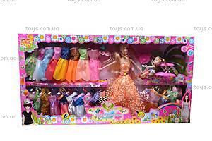 Кукла типа «Барби», с куколкой, 205C, цена
