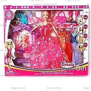 Кукла типа «Барби», с куколкой и качелью, 167-C2