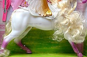 Кукла типа «Барби», с лошадью, 83184, игрушки