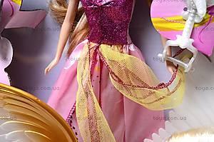 Кукла типа «Барби», с лошадью, 83184, детские игрушки