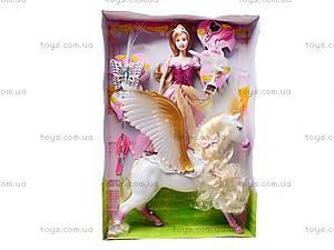 Кукла типа «Барби», с лошадью, 83184, toys.com.ua