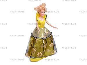 Кукла типа «Барби», с модными платьями, 88067-1, фото