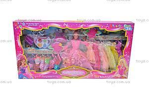 Кукла типа «Барби», с набором косметики, 2276-4, цена