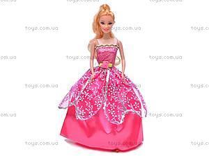 Кукла типа Барби, с набором нарядов, 8589A
