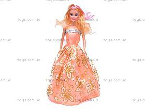 Кукла типа Барби, с набором одежды, 988-A2