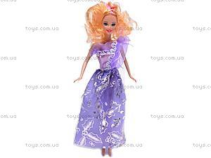 Кукла типа «Барби» с набором одежды, 9809-C3