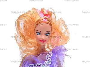Кукла типа «Барби» с набором одежды, 9809-C3, фото