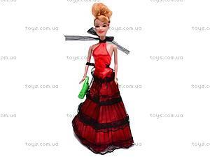 Кукла типа Барби с набором одежды и обувью, RFR-8038A12