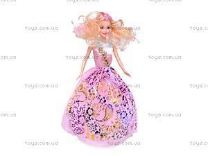 Кукла типа «Барби», с нарядами, 988A