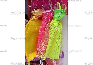 Кукла типа «Барби» с платьями, 66399, цена