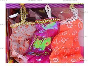 Кукла типа «Барби» с платьями, 66399, игрушки